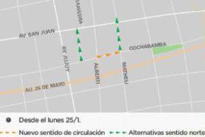 Ciudad: Cambio de mano la calle Cochabamba