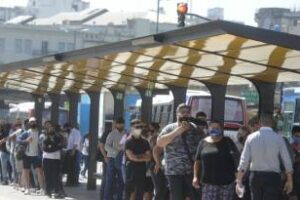 Constitución:Cambia disposición de paradas de colectivos