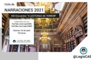 Legislatura porteña: Cuatros Lecturas de Terror