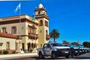 Entrega de Patrulleros en Villarino y Carmen de Patagones