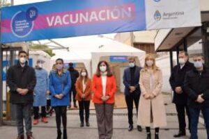 PAMI: Se instaló vacunatorio COVID-19 en Mendoza