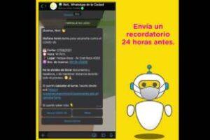 Reconocimiento mundial al chatbot de la Ciudad