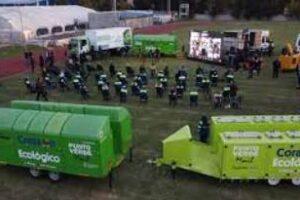Ambiente entregó maquinaria para la gestión de residuos sólidos