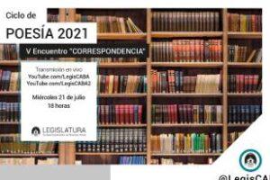 V Encuentro del Ciclo de Poesía 2021: Correspondencia