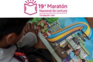 Fundación Leer:Nueva edición de Maratón Nacional de Lectura