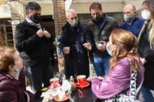 Santilli, Larreta: Recorrieron Vicente López junto al intendente Macri