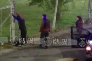 Constitución:Delincuentes detenidos por las cámaras de seguridad